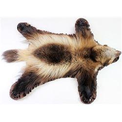 Montana Wolverine rug