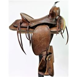Vintage boys Roy Rogers saddle