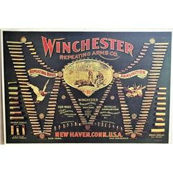 Winchester bullet board printed on canvas