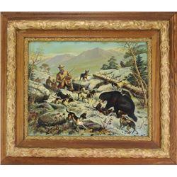 Scarce Teddy Roosevelt lithograph