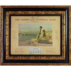 1911 Winnebago National Bank advertising