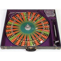 Traveling gambling wheel in original
