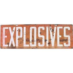 Homestake Mining Company tin Explosives
