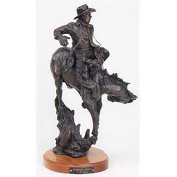 """Bronze """"Humpback Mornin"""" by SD artist Tony Chytka"""