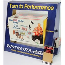 Winchester cardboard counter top display