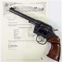 Colt Army special .41 cal. SN 424XXX