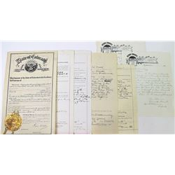 1894 Otero County Colorado criminal complaint,