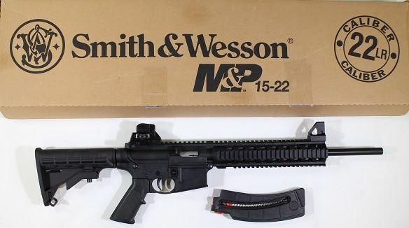 S&W Model MP15 22 cal  SN D2214XX