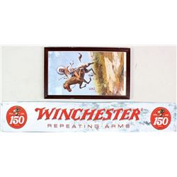 Collection of 2 Winchester items includes