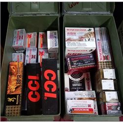 Large collection of 22 caliber ammunition