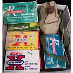 15 boxes of Remington 17MM Rem mag
