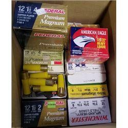 10 boxes of misc. shotgun ammunition