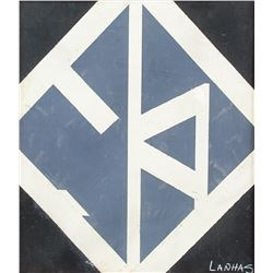 Portuguese Abstract OOC Signed Fernando Lanhas