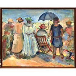 Josefina Ferrer Spanish, b.1922 Oil on Linen