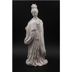 A Dehua Avalokitesvara Statue.
