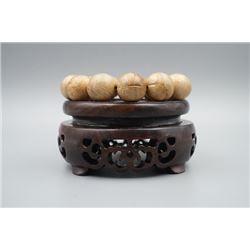 A 100% Real 13-Bead Agilawood Bracelet.