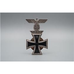 A 1933 Nazi Iron Cross.
