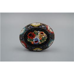 "A 19th Century Italy ""Mosaic"" Brooch."