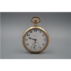 A Civitas Gold-Gilted Old Pocket Watch.