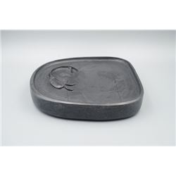 A Qing Dynasty Old Ink Stone with Original Box.