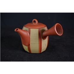 A Ceramic Teapot from One of the Six Japanese Famous Ancient Kilns.
