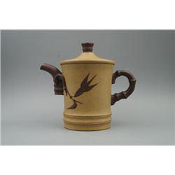 """An Old """"Gao Jian Fen Zhi"""" """"Duan"""" Clay Yixing Teapot."""