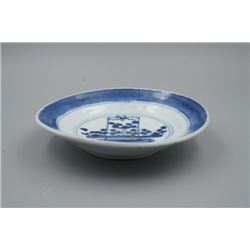 """A Qing Dynasty """"Floral"""" Plate."""