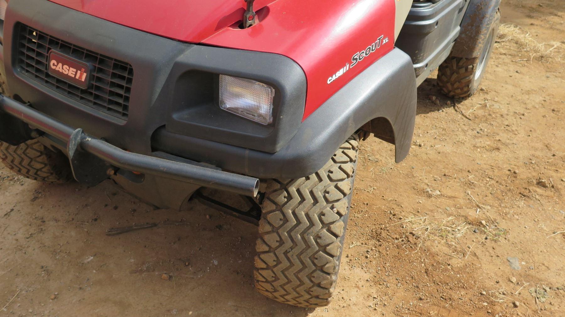 Case Scout XL UTV, 653 Hours, Diesel, New Tires, (tank shown