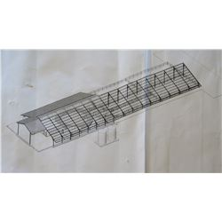 "Unused/Unassembled Hurricane-Rated Steel Barn, 75' x 281' x 21'8"" H at highest, 9'10 at lowest"
