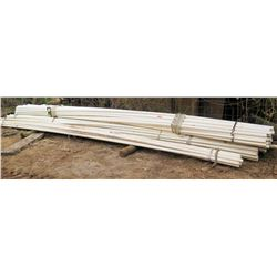 "Bundle of PVC Pipes, Approx. 19'9"" Length, Approx. Qty 161"