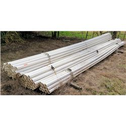 Bundle of PVC Pipes, Approx. 20' Length, Approx Qty 100