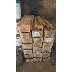 "Wood Stakes (1"" x 2"" x18""),19 Boxes (24 in each box)"