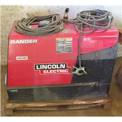 Lincoln 250 GXT Ranger Welder Generator, 1218 Hrs (needs new battery, starts & runs)