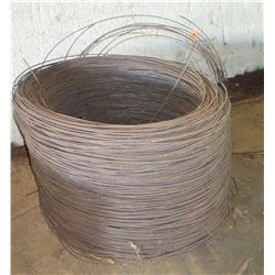 Large Spool of Heavy Gauge Metal Wire