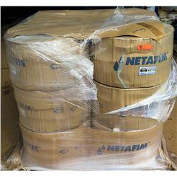 12 Rolls Netafim Dripnet Drip Tube, Model 06DA87525.42-30