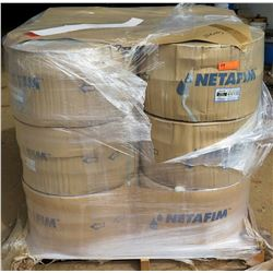 12 Rolls Netafim Dripnet, Model 06DA87525.42-30