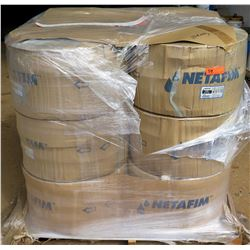 12 Rolls Netafim Dripnet Drip Tube, Model 06DA87525.42-30