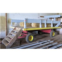 Parade Trailer (Converted Peanut Wagon), 22' Long, 100  Wide, 98  High