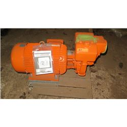 Nicolini Electronic Trash Pump / Motor (Type MOT.3 TIPO 160LC2 R.P.M 2930/3360)