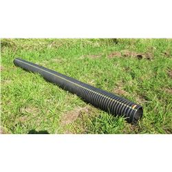 """Qty 1 Black Culvert Pipe 19'9"""" Length, 11"""" Dia."""