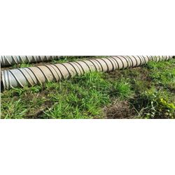 Qty 1 Metal Culvert Pipe 20  Length, 18  Dia.