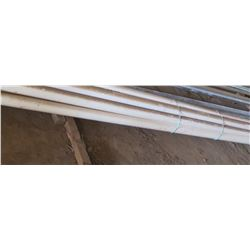 Approx. 7 White PVC Pipes - Each 20' Long