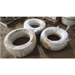 Qty 3 Spools (50-Meters Each) Non-Toxic PVC Barn Hose 25mmx32mm