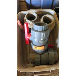 Qty 3 VSTD Valves, Large