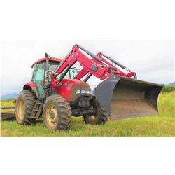 2013 Case 110A Tractor w/ Bucket Attachment, 2221 Hours (runs, drives, see video)