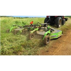 Schulte XH1500 Batwing Mower (works great, see video)