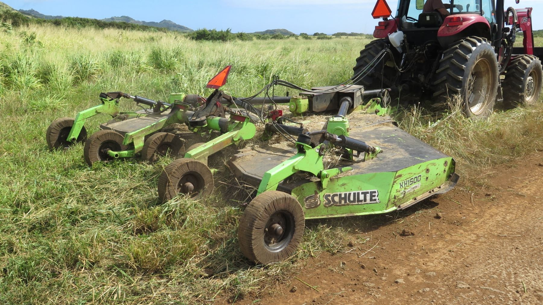 Schulte XH1500 Batwing Mower (works great, see video) - Oahu