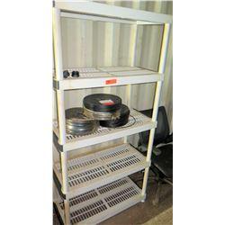 Plastic Shelving Unit