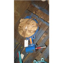 Blue Butterfly Valve, Unused