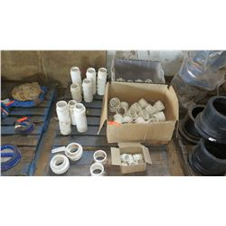 Contents of Pallet: Misc. PVC Fittings & Parts